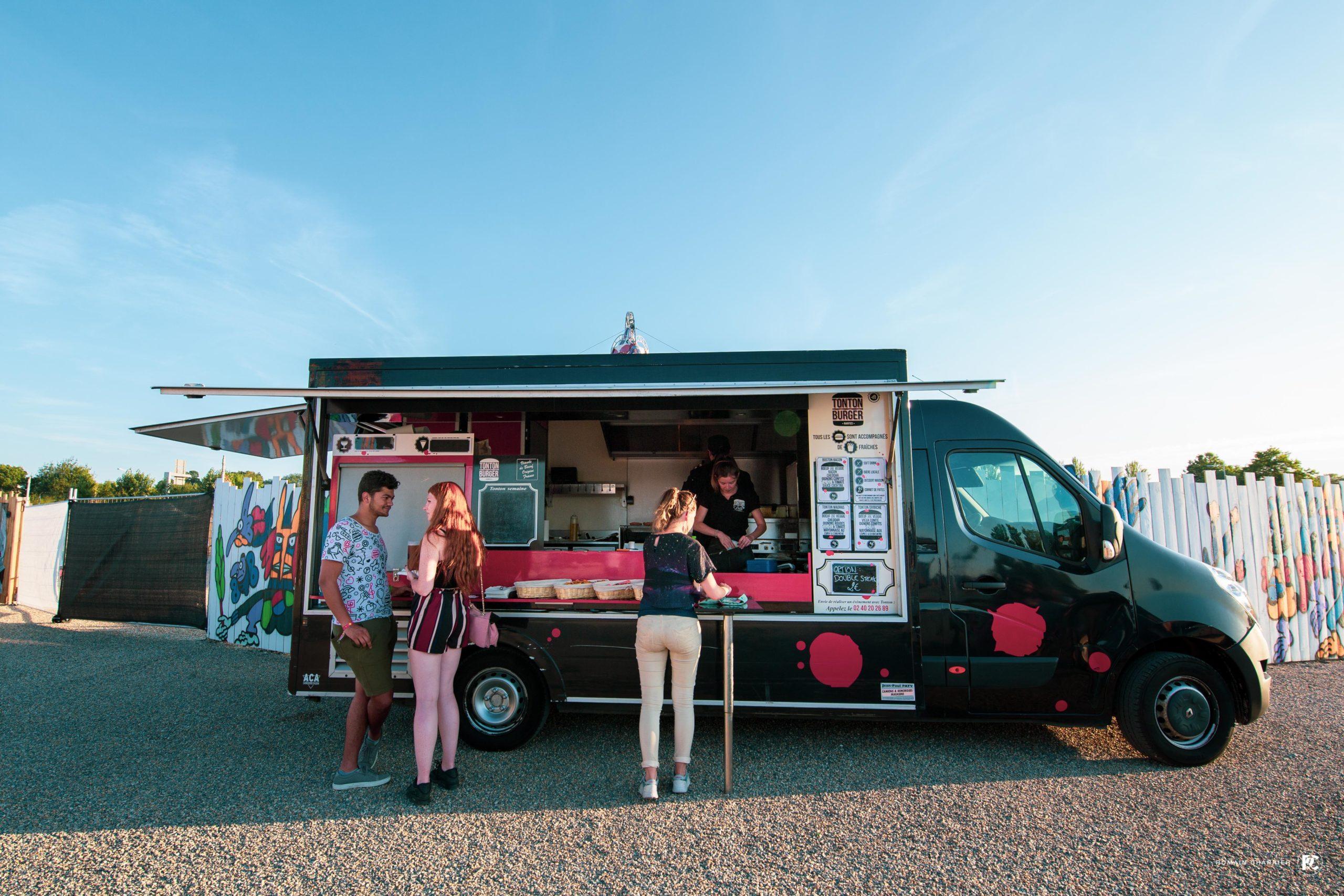 Food truck à Transfert